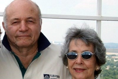 Trudy and John at Masonic Temple