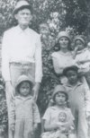 Addie with her parents and siblings - 1927