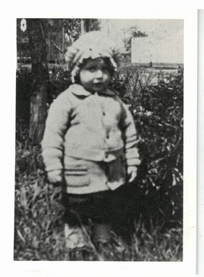 Lillian at age 3, 1927