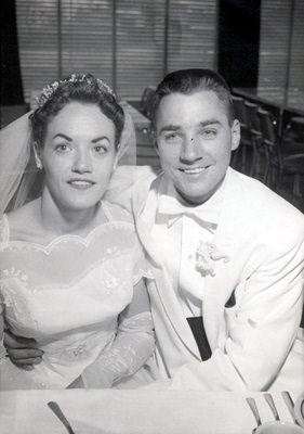 Janet and Norman Bauer married - May 2, 1959