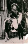Jack Boeko as a young cowboy.