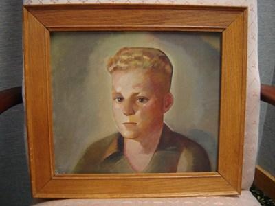 12 year old portrait sitting