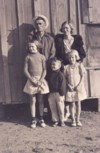 September 25, 1937, Val and Roma Scott; Doris, Leon, and Ethel