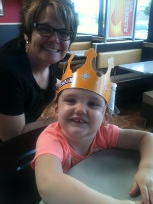 FAITH & GRANDMA AT BURGER KING